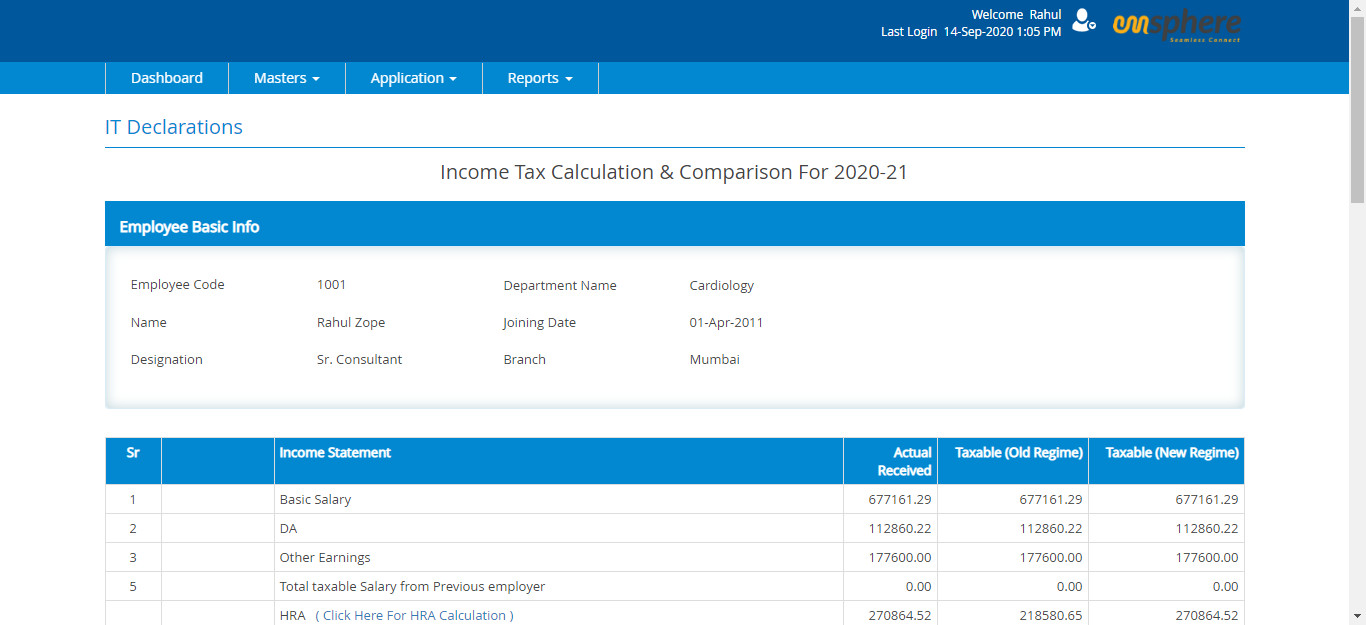 Emsphere Payroll Management Software helps to calculate and process employee payments, generating tax forms, and facilitating administration.